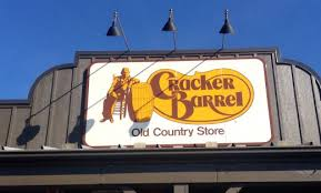 Cracker Barrel is a restaurant known for serving home cooked southern style food in an old timey atmosphere I ve traveled all over the US and found every