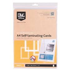 plastifier bureau en gros paquet 10 pochettes de plastification à froid a4 3l pochettes
