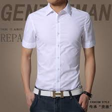 online shop 2017 summer men u0027s shirt short sleeve slim fit men u0027s