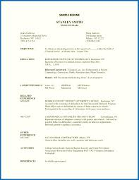 Resume Objectives Examples General Template Objective For Labor To Within Images