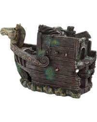 deal alert aquatic creations sunken galleon bow shipwreck