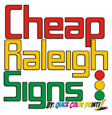 Cheap Raleigh Signs 450