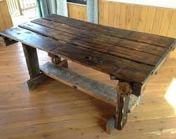 Reclaimed Wood Dining Table Rustic Tables