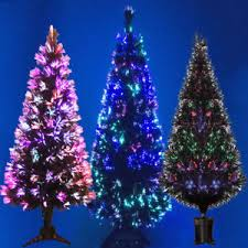 Artificial Christmas Trees Uk 6ft by Green Fibre Optic Led Artificial Indoor Christmas Tree 2ft 3ft 4ft