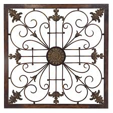 Metal Wall Decor Target by Shop Propac Images 30 In W X 30 In H Frameless Metal Scroll