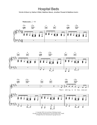 cold war kids sheet music to download and print world center of