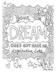 Free Coloring Book Pages Inspirational Quotes