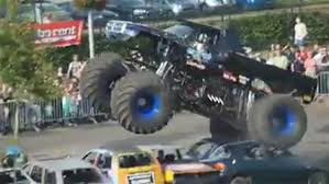 Three Killed As Monster Truck Crashes Into Crowd - Video Dailymotion Monster Jam Is Big Fun For The Whole Family With Ashley And Company Arnes Warehouse Trucks In Maine Best Image Truck Kusaboshicom Crushstation Amazoncom Hot Wheels 124 Scale Vehicle Mtdh01 Downhill Racing Walker Invitational Dhr Youtube On Auction Block Livestock Selling Provides Payoff For 4hers The Ugdan Dictator And Louisiana Crayfish Jam 2015 Detroit Crustacean Xl Center 2016 Freestyle