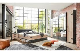 wimex stockholm schlafzimmer set im industriestil möbel