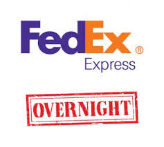 Add FedEx Overnight to your order