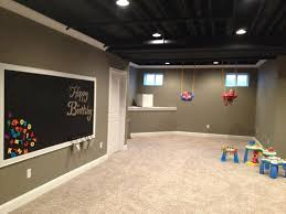 Basement Love The Color Of Walls And Trim Unfinished CeilingBasement Wall ColorsBasement