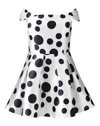 ax paris polka dot print skater dress simply be