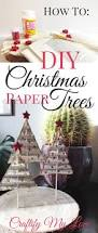 Christmas Tree Books Diy by Paper Christmas Tree From Vintage Books Craftify My Love