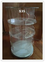 Tabletop Spinning Display Stand 35