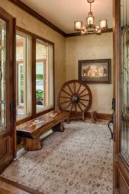 Rustic Paint Ideas Entry With Country Style Lever Door Handle
