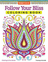 Follow Your Bliss Coloring Book Activity Design Originals