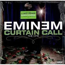 eminem curtain call the hits us 2 lp vinyl record set double