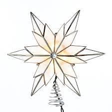 Capiz Clear Star Tree Topper