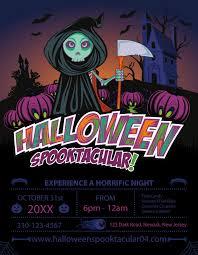 Free Halloween Invitation Templates Microsoft by Zombie Flyer Template Zombie Alert Halloween Flyer Twisted Night
