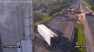 100 Semi Truck Accident On I 75 All Lanes Open After Crash WUFT News