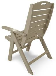 Outer Banks Polywood Folding Adirondack Chair by Patio Polywood Inc Trex Patio Furniture Adirondack Chairs