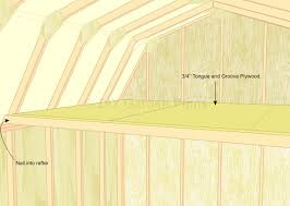 12x12 Shed Plans With Loft by Gambrel Shed Plans With Loft Loft
