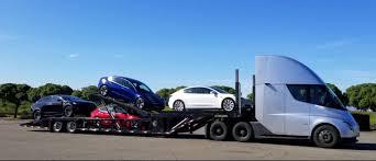 100 Auto Truck Transport Tesla Semi Electrek