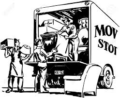 100 Packing A Moving Truck Clipart