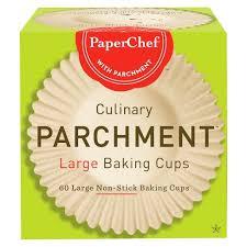 PaperChefR Large Baking Parchment Cups