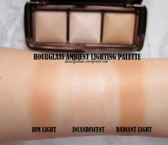 Swatches Hourglass Ambient Lighting Palette