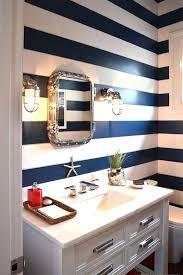 Nautical Bath Decor Bathroom Diy