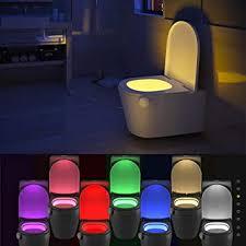 wc schüssel light sensor motion aktiviert badezimmer led wc