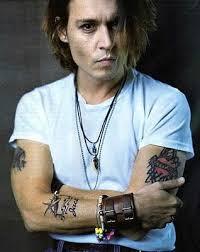 Celebrity Johnny Depp Arm Sleeves Tattoo