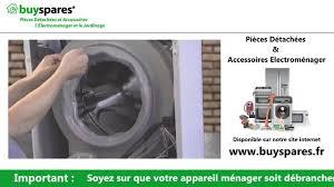 comment remplacer le joint de porte d une machine à laver