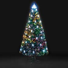 7ft Pre Lit Christmas Tree Tesco by Cheap Fibre Optic Christmas Tree Prices Online Pi Uk