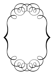 Free clip art borders wedding clipart images 4