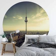 fototapete berliner fernsehturm rund