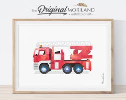 Fire Truck Wall Art, Ladder Truck Printable, FireTruck Print, Fire ... Bedroom Decor Ideas And Designs Fire Truck Fireman Triptych Red Vintage Fire Truck 54x24 Original 77 Top Rated Interior Paint Check More Boys Foxy Image Of Themed Baby Nursery Room Great Images Race Car Best Home Design Bunk Bed Gotofine Led Lighted Vanity Mirror Bedroom Decor August 2018 20 Amazing Kids With Racing Cars Models Other Epic Picture Blue Kid Firetruck Wall Decal Childrens Sticker Wallums