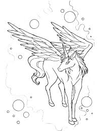Pegasus Coloring Pages Free Printable