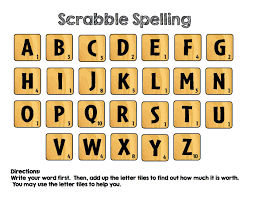 letter tile spelling word work station spelling words word work