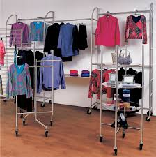Best Clothing Racks Store Fixtures And Retail Supplies In Boutique Display Decor