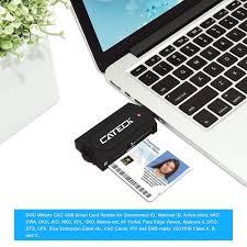 Jko Help Desk Number by Smart Card Reader Cateck Usb Smart Card Reader Black Buy Usb