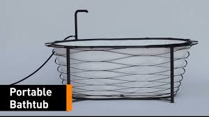 Portable Bathtub For Adults Uk by Now You Can Shower On The Go With This Foldable Bathtub Youtube
