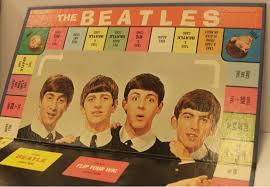 Beatles Flip Your Wig Board Game