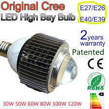 led high bay retrofit 30w 50w 60w standard light bulb fitting e27