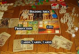 The Components Age Of Mythology Boardgame