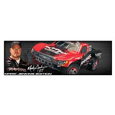 Traxxas Slash – Mark Jenkins Edition 1/10 Scale Brushed 2WD Remote ...