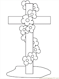 Printable 29 Cross Coloring Pages 694