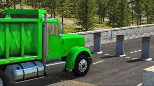 100 Dump Truck Crash BeamNG Drive Testing YouTube