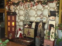 Primitive Decorating Ideas For Christmas by Ideas For Primitive Christmas Decorations Home Design Tips